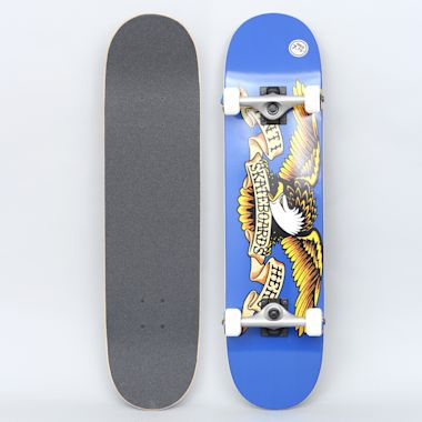 Anti Hero 7.75 Team Eagle Medium Complete Skateboard Blue