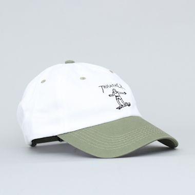 Thrasher Gonz Old Timer Cap White / Olive