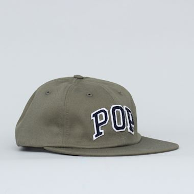 Pop Trading Arch 6 Panel Cap Olive