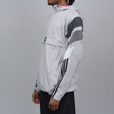 Second view of adidas 3ST Track Jacket Light Granite / DGH Solid Grey / Grey 5 / Clear Onix