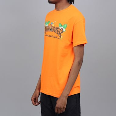 Second view of Thrasher Tiki T-Shirt Safety Orange