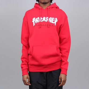 Thrasher Godzilla Hood Red