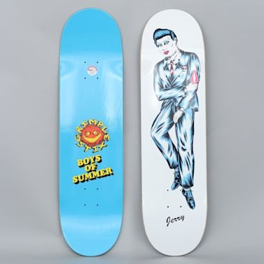Anti Hero 8.38 Jerry Hsu B.O.S Grimple Guest Skateboard Deck White
