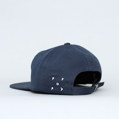 Second view of Pop Trading Arch 6 Panel Cap Navy