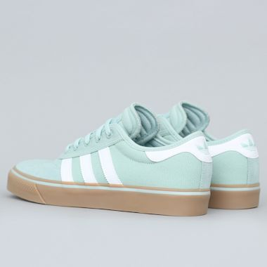 Second view of adidas Adi-Ease Premiere Shoes Ash Green / FTW White / Gum4