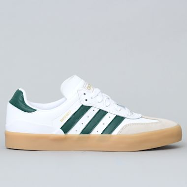 adidas Busenitz Vulc RX Shoes FTWR White / Collegiate Green / Gum3