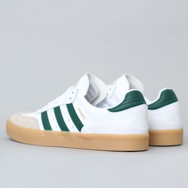 Second view of adidas Busenitz Vulc RX Shoes FTWR White / Collegiate Green / Gum3