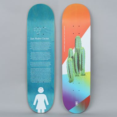 Girl 8.25 Cory Kennedy The Psychedelic Plants Skateboard Deck