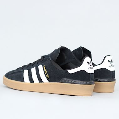Second view of adidas Campus Advance Shoes Core Black / Footwear White / Gum 4