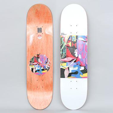 Polar 8.125 Nick Boserio Hide Out Skateboard Deck
