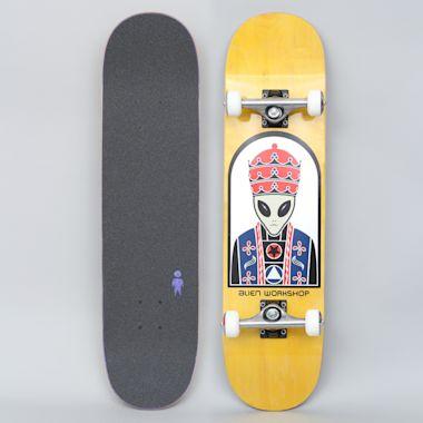 Alien Workshop 8 Priest Complete Skateboard Yellow