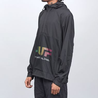 Second view of HUF Productions Inc Anorak Black