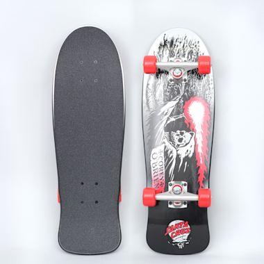 Santa Cruz 8.34 O'Brien Reaper Mini 80's Complete Skateboard