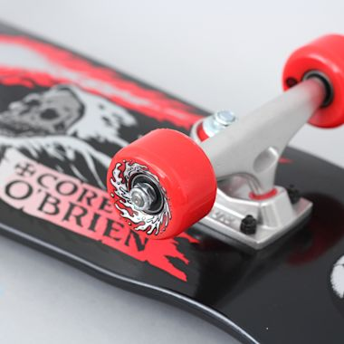 Second view of Santa Cruz 8.34 O'Brien Reaper Mini 80's Complete Skateboard