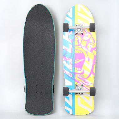 Santa Cruz 9.42 Screaming Hand Overlay 80's Complete Skateboard