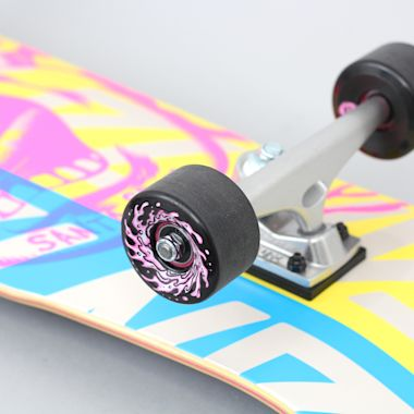 Second view of Santa Cruz 9.42 Screaming Hand Overlay 80's Complete Skateboard