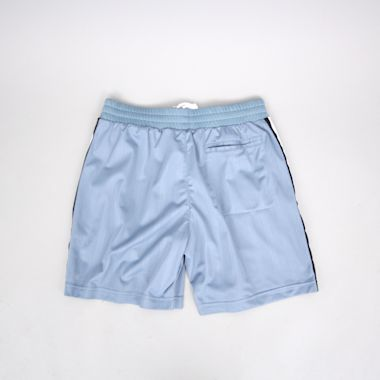 Second view of adidas Clatsop Shorts Raw Grey / Black / White