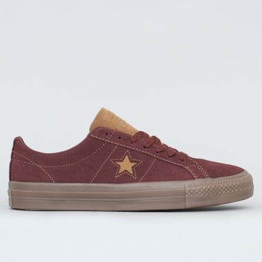 Converse One Star Pro OX Shoes Barkroot Brown / Ale Brown / Brown