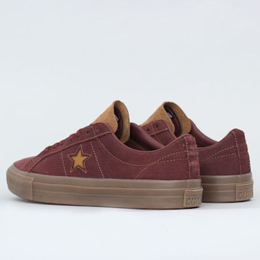 Second view of Converse One Star Pro OX Shoes Barkroot Brown / Ale Brown / Brown