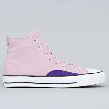 Converse CTAS Pro OP Hi Shoes Plum Chalk / Court Purple / White