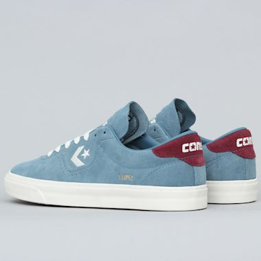 Second view of Converse Louie Lopez OX Shoes Celestial Teal / Dark Burgundy