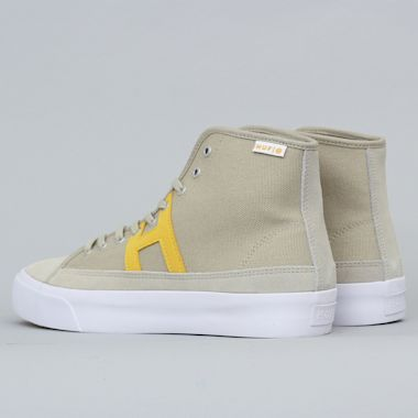 Second view of HUF Hupper 2 Hi Shoes Spray Green