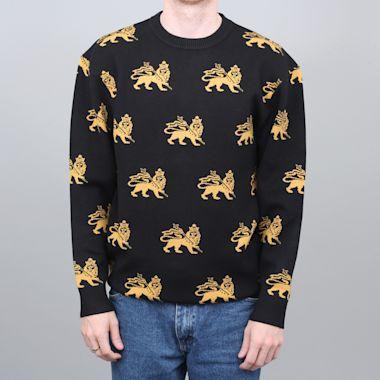 Butter Goods Judah Knitted Sweater Black
