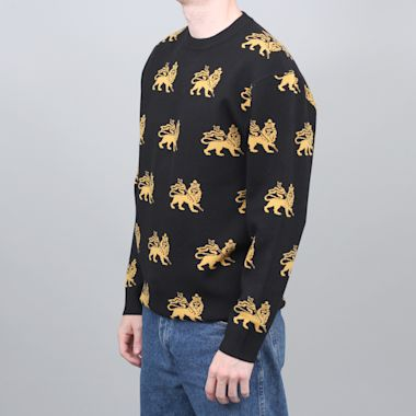 Second view of Butter Goods Judah Knitted Sweater Black