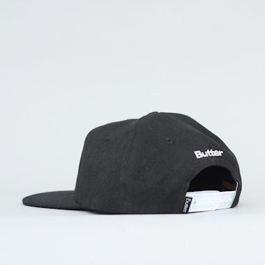 Second view of Butter Goods Bulldog Snapback Cap Black