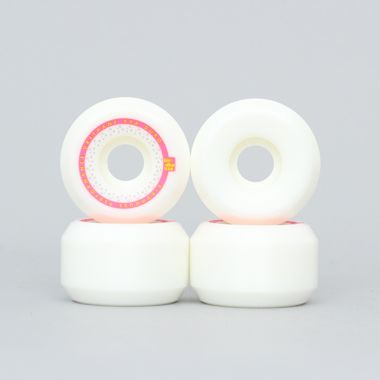 Birdhouse 54mm 99A Mainliner Wheels White / Pink / Yellow