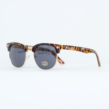 Second view of Glassy Morrison Sunglasses Tortoise