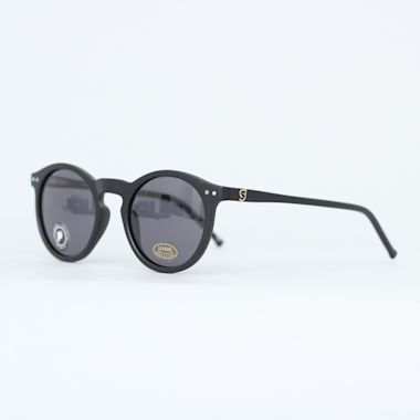 Second view of Glassy Tim Tim Premium Polarized Sunglasses Matte Black