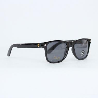 Glassy Leonard Polarized Sunglasses Black