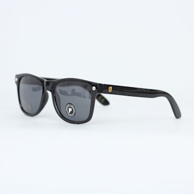 Second view of Glassy Leonard Polarized Sunglasses Black