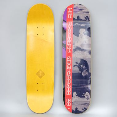 The National 8.125 Equinophobia Skateboard Deck