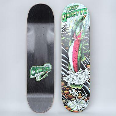 Creature 8.3 Gravette Wooly Bugger Skateboard Deck