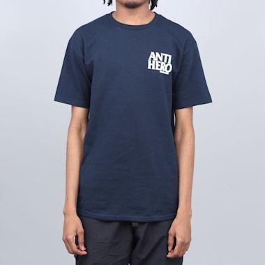 Anti Hero Lil Blackhero T-Shirt Navy