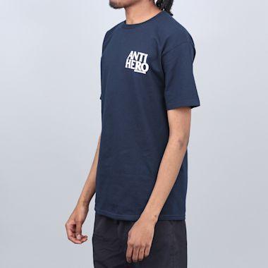 Second view of Anti Hero Lil Blackhero T-Shirt Navy