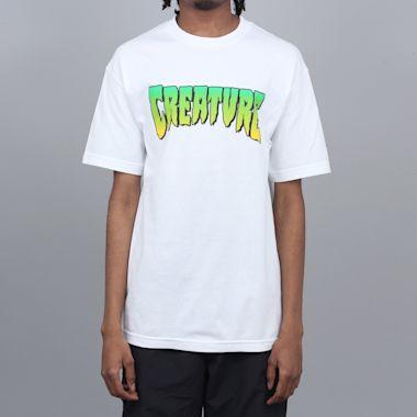 Creature Logo T-Shirt White