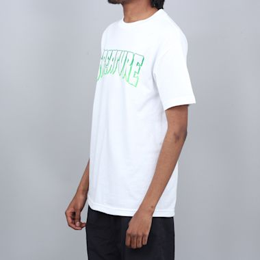Second view of Creature Outline T-Shirt White