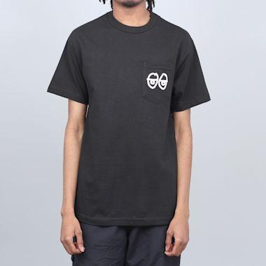Krooked Strait Eyes T-Shirt Black / White