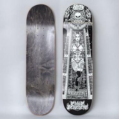 Death Skateboards 8.5 Eddie Belvedere Maiden Skateboard Deck