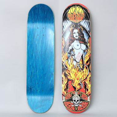 Death Skateboards 8.25 Benson Devil Woman Skateboard Deck