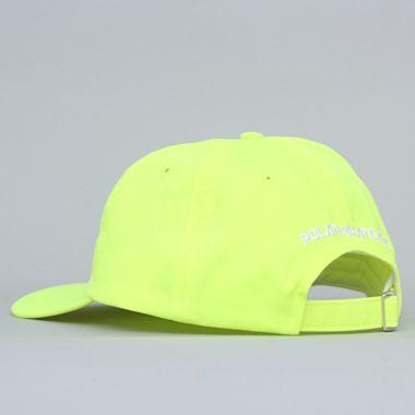Second view of Polar Stroke Logo Cap Neon Yellow