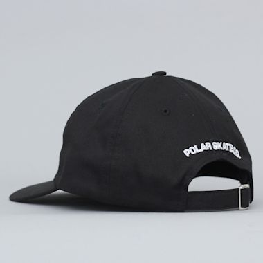 Second view of Polar Stroke Logo Cap Black / White
