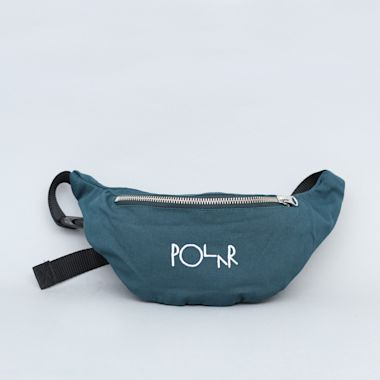 Polar Script Logo Hip Bag Dark Green