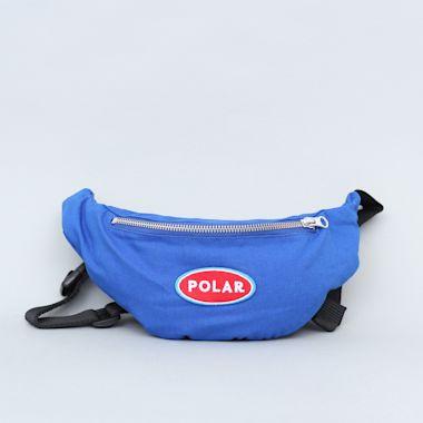Polar Station Logo Hip Bag Royal Blue