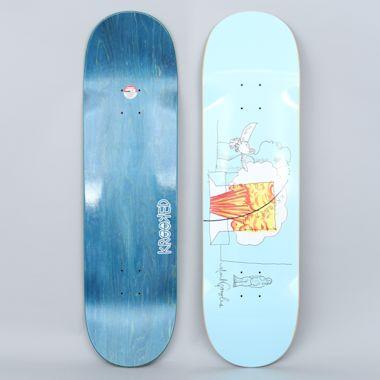 Krooked 8.75 Blast Gonz Pro Skateboard Deck Blue