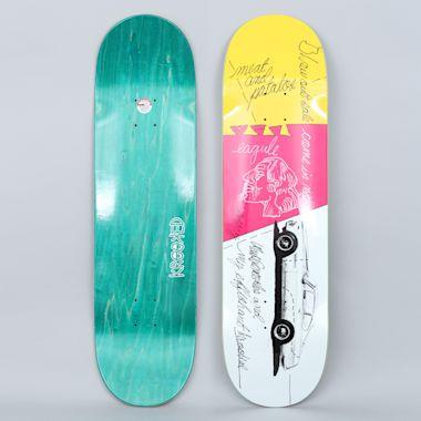Krooked 8.62 Gonz Effishant Pro Skateboard Deck