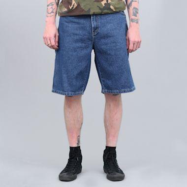 "Dickies 11"" Relaxed Fit Carpenter Shorts Stonewashed Indigo Blue"